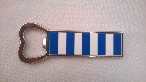 Blue & White Magnetic Opener