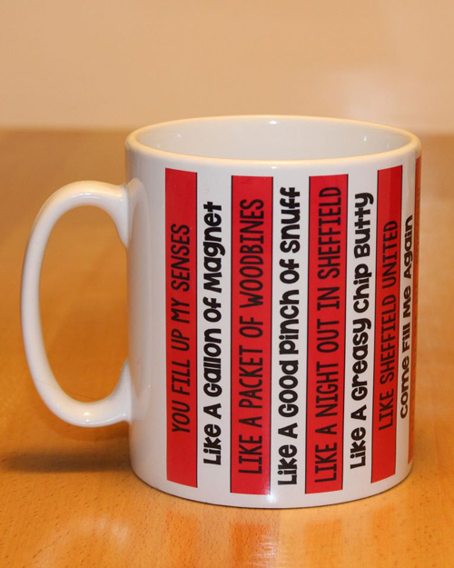 Sheffield United Greasy Chip song Mug
