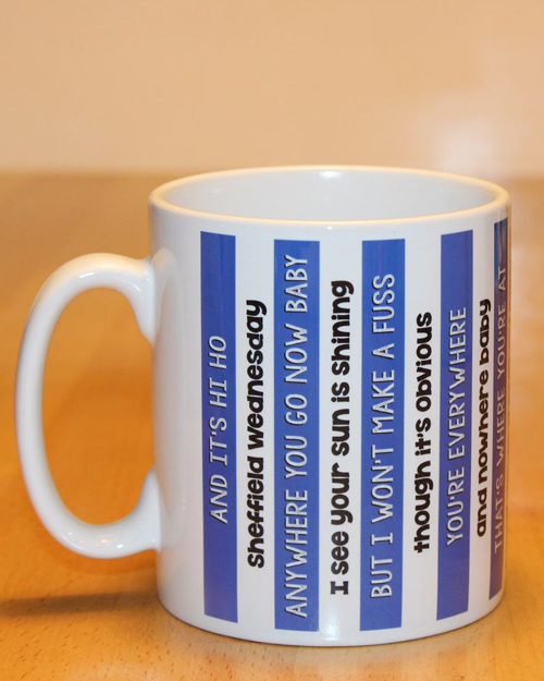 Sheffield Wednesday hi Ho song Mug