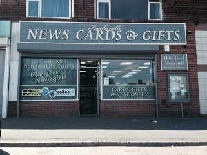 Frecheville News, Cards & Gifts Shop